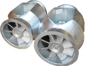 Bifurcated Fans | Cadfan Fans and Impellers